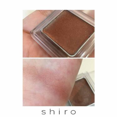 シアアイシャドウ/shiro (シロ)/ジェル・クリームアイシャドウを使ったクチコミ(2枚目)