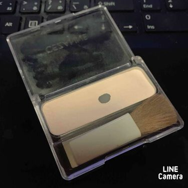 フェース コントロール カラー/CEZANNE/プレストパウダーを使ったクチコミ(2枚目)
