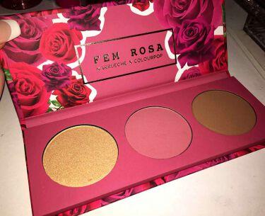 ColourPop(カラーポップ) FEM ROSE HER pressed powder face palette
