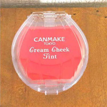 百理さんの「キャンメイククリームチーク ティント<ジェル・クリームチーク>」を含むクチコミ