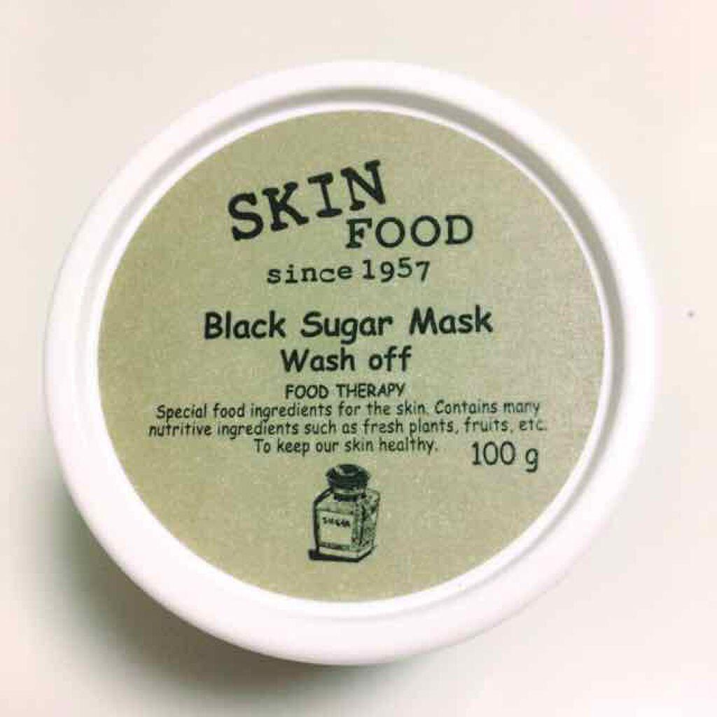 ブラックシュガーマスクウォッシュオフ/SKINFOOD(スキンフード)/洗い流すパック・マスク by HoKuUMi