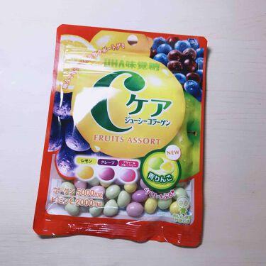 くみすんさんの「UHA味覚糖Cケアジューシーコラーゲン<食品>」を含むクチコミ