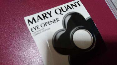 アイオープナー(旧)/MARY QUANT/パウダーアイシャドウを使ったクチコミ(1枚目)