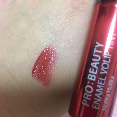 【画像付きクチコミ】RD01番秋冬に使える深い赤です韓国旅行に行った時に色に一目惚れして購入🙆オイルティントなので色も潤いも両方残る!深みのある赤だけど透明感もある🙅つけ過ぎるとベタベタになっちゃうかも付け方に注意です…