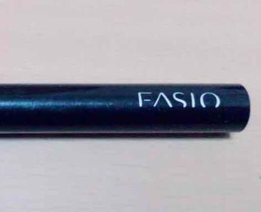 スリム リキッドライナー/FASIO/リキッドアイライナーを使ったクチコミ(1枚目)