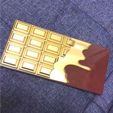 足の裏さんの「MAKEUP REVOLUTION(メイクアップレボリューション)/アイラブメイクアップアイラブチョコレート<パウダーアイシャドウ>」を含むクチコミ
