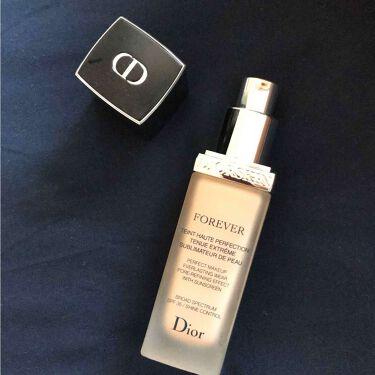 ディオールスキン フォーエヴァー フルイド/Dior/リキッドファンデーションを使ったクチコミ(2枚目)