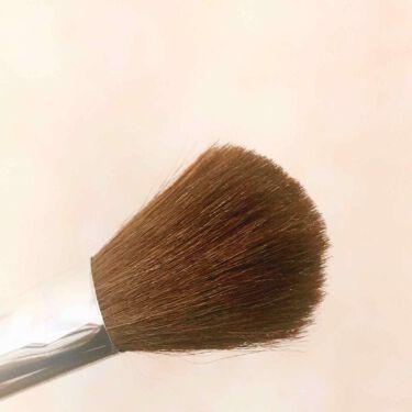 ロージーローザ 熊野筆 パウダーL/ロージーローザ/メイクブラシを使ったクチコミ(2枚目)