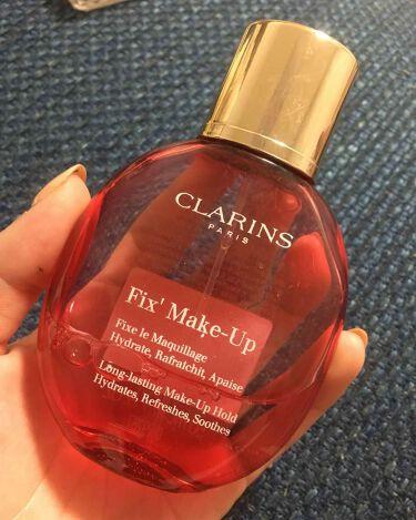 関根りさ さんの「クラランスフィックス メイクアップ<ミスト状化粧水>」を含むクチコミ