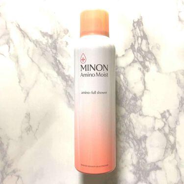 Mahyaさんの「ミノンアミノモイスト アミノフルシャワー<ミスト状化粧水>」を含むクチコミ