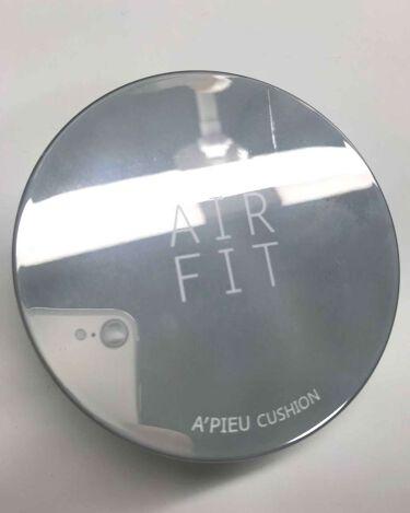 AIR FIT BLUSHER/A'PIEU/化粧下地を使ったクチコミ(1枚目)