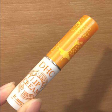 香るモイスチュアリップクリーム はちみつ/DHC/リップケア・リップクリームを使ったクチコミ(1枚目)
