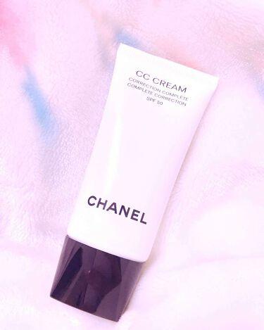 CC クリーム 50/CHANEL/化粧下地を使ったクチコミ(1枚目)