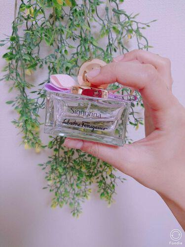 シニョリーナ オーデトワレ/サルヴァトーレ フェラガモ/香水(レディース)を使ったクチコミ(1枚目)