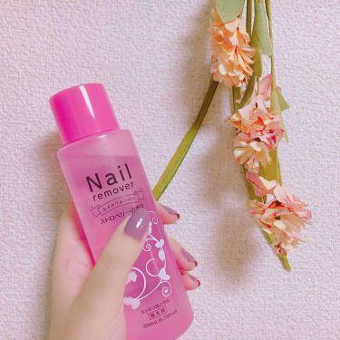 ネイルリムーバー ストロベリーの香り DAISO