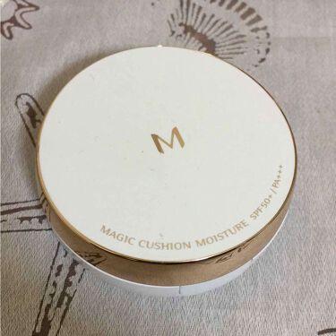 M クッション ファンデーション(モイスチャー)/MISSHA/その他ファンデーションを使ったクチコミのサムネイル(1枚目)