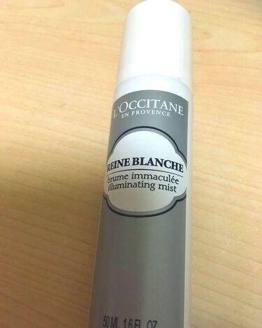 レーヌブランシュ ブライトフェイスミスト/L'OCCITANE/ミスト状化粧水を使ったクチコミ(1枚目)