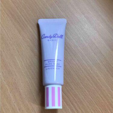 ❥❥SAKIさんの「CandyDoll(キャンディドール)ブライトピュアベース<化粧下地>」を含むクチコミ
