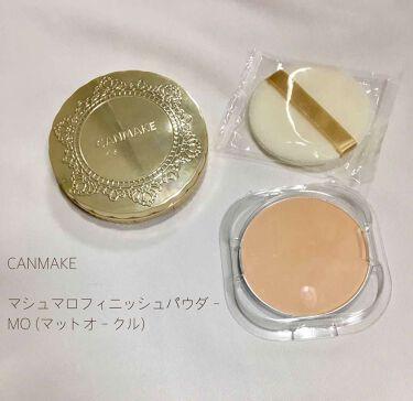 マシュマロフィニッシュパウダー/CANMAKE/プレストパウダー by ✧ Mai ✧