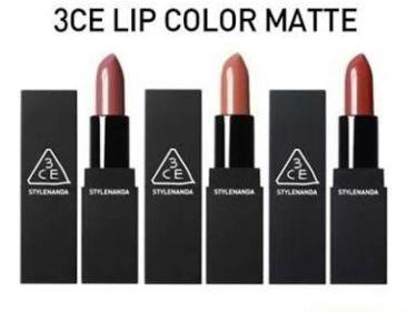 MATTE LIP COLOR/3CE/口紅を使ったクチコミ(4枚目)
