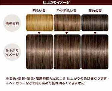 ミルクジャムヘアカラー/ルシードエル/ヘアカラー・白髪染め・ブリーチを使ったクチコミ(2枚目)