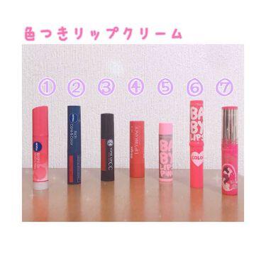 miku.さんの「ニベアリッチケア&カラー リップ<リップケア・リップクリーム>」を含むクチコミ
