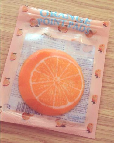 ジューシーフルーツ ポイントパッド オレンジ/Pure Smile/レッグ・フットケアを使ったクチコミ(1枚目)
