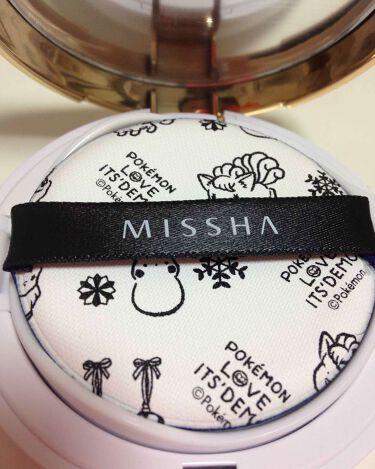 M クッション ファンデーション(モイスチャー)/MISSHA/その他ファンデーションを使ったクチコミ(3枚目)