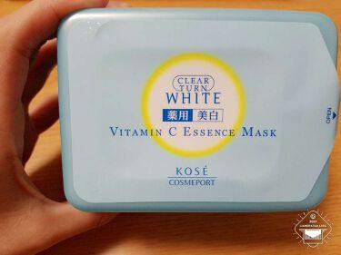 エッセンスマスク(ビタミンC)/クリアターン/シートマスク・パックを使ったクチコミ(1枚目)