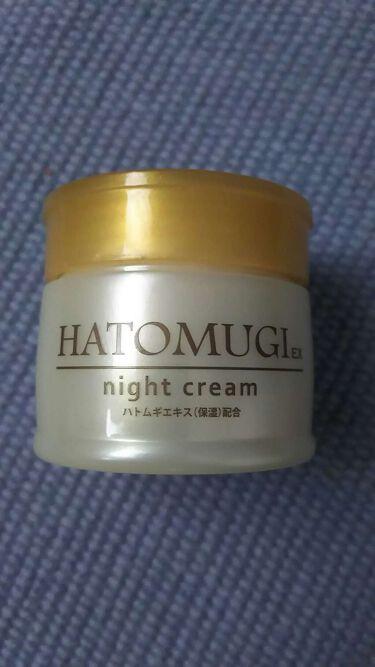 ザ・ダイソー HATOMUGIex night cream