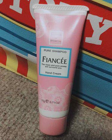 ハンドクリーム ピュアシャンプーの香り/フィアンセ/ハンドクリーム・ケアを使ったクチコミ(1枚目)