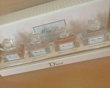 【画像付きクチコミ】♡ミスディオールセントコレクション❁キツすぎなくていい香り!!❁匂いのもちがいい!!❁ちょっと高いけどかなりおすすめ!!