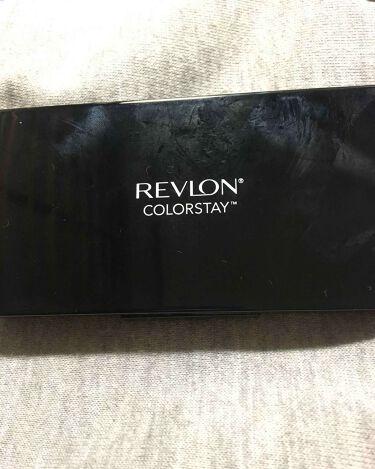 カラーステイ UV パウダー ファンデーション/REVLON/パウダーファンデーションを使ったクチコミ(2枚目)