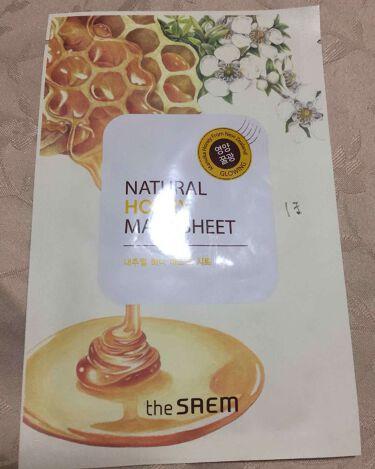 the SAEM(ザセム/韓国) Natural Honey Mask Sheet