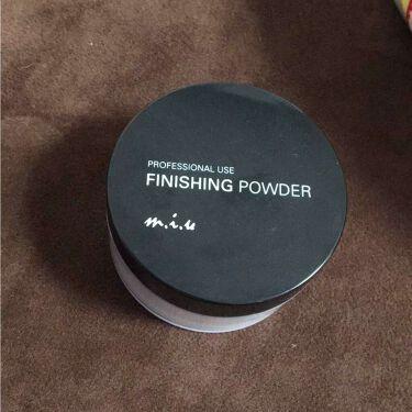 フィニッシングパウダーEX/ミュウ プロオンステージ/ルースパウダーを使ったクチコミ(1枚目)