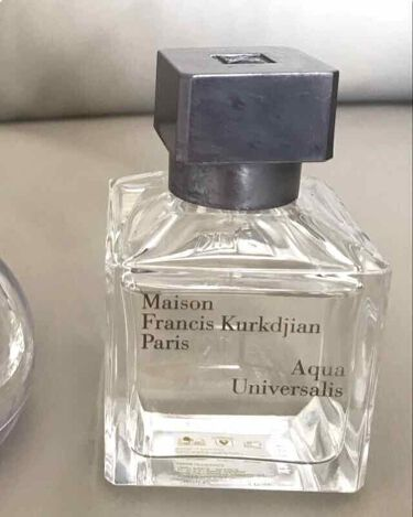 アクア ユニヴェルサリス オードトワレ/メゾン フランシス クルジャン/香水(メンズ)を使ったクチコミ(1枚目)