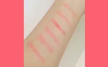 リシェ クリスタルデュオ リップスティック/Visée/口紅を使ったクチコミ(4枚目)