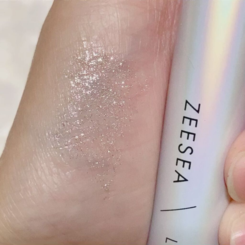 ダイヤモンドシリーズ カラーマスカラ/ZEESEA/マスカラを使ったクチコミ(4枚目)