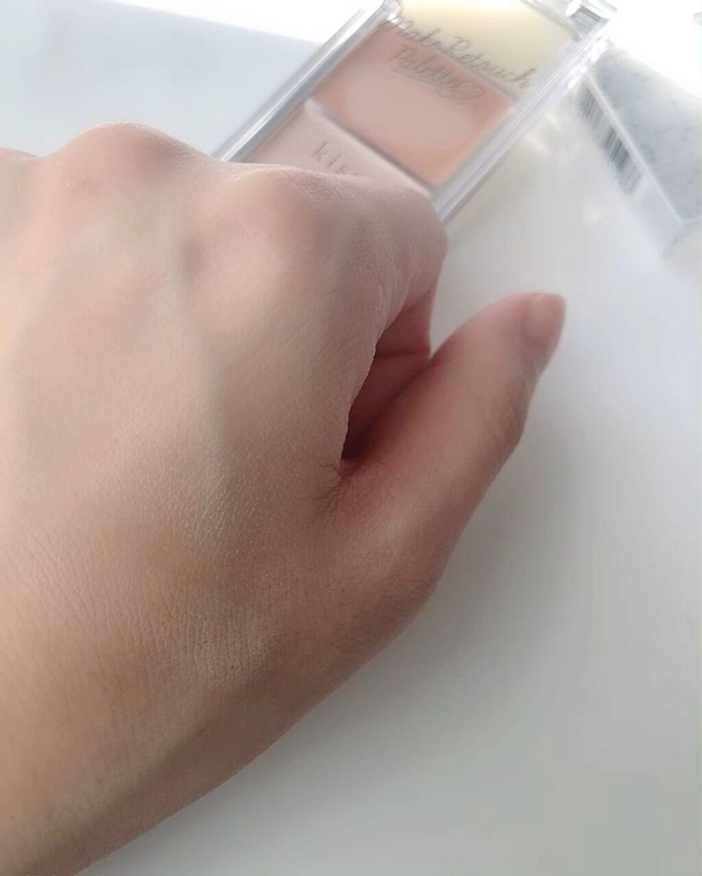 メイクリタッチパレット/kiss/コンシーラーを使ったクチコミ(9枚目)