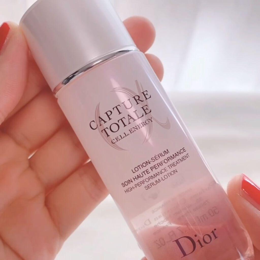 カプチュール トータル セル ENGY ローション/Dior/化粧水を使ったクチコミ(5枚目)