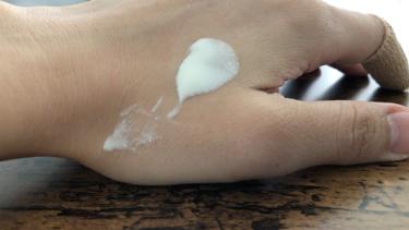 ビオレUV さらさらパーフェクトミルク SPF50+/ビオレ/日焼け止め(ボディ用)を使ったクチコミ(3枚目)