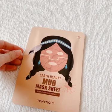 earth beauty mud mask sheet/TONYMOLY(トニーモリー/韓国)/洗い流すパック・マスクを使ったクチコミ(2枚目)