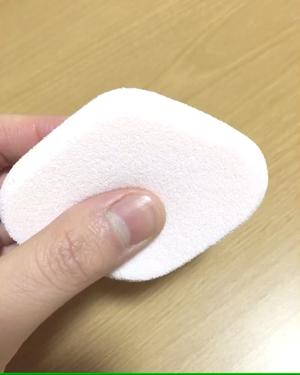 シフォンタッチスポンジN ダイヤ型/ロージーローザ/パフ・スポンジを使ったクチコミ(3枚目)