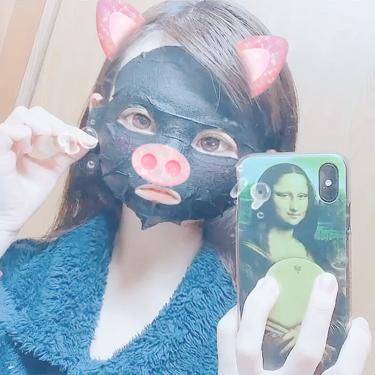 JAYJUN ブラック水光マスク/JAYJUN/シートマスク・パックを使ったクチコミ(4枚目)