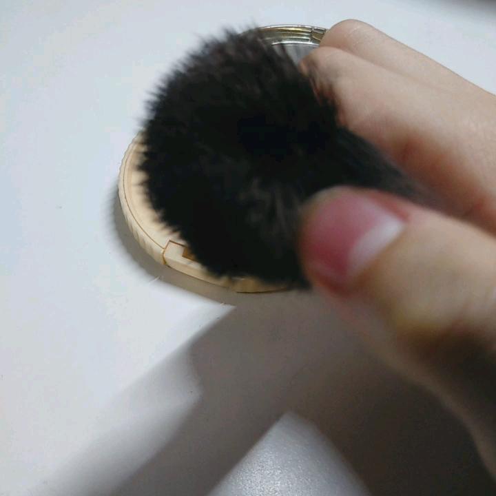 ごくふわっ ミッキーブラシ/DAISO/メイクブラシを使ったクチコミ(3枚目)