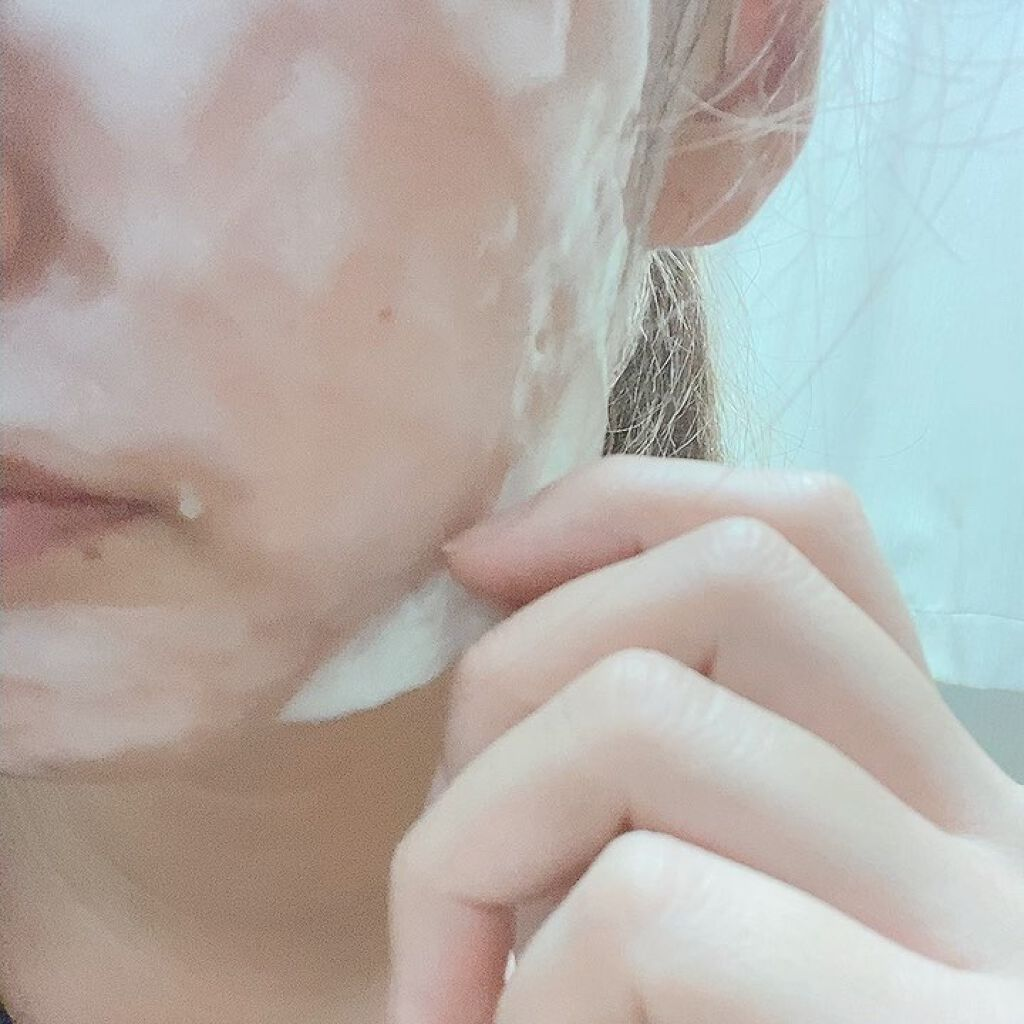 炭酸パック プルリ/ウツクシア/洗い流すパック・マスクを使ったクチコミ(4枚目)