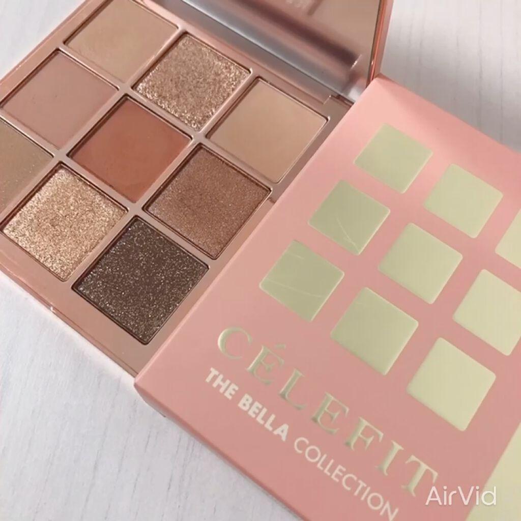 The Bella collection eyeshadow palette/CELEFIT/パウダーアイシャドウを使ったクチコミ(6枚目)