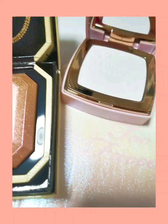 ダイヤモンドライト マルチユース ハイライター/Too Faced/ハイライトを使ったクチコミ(2枚目)
