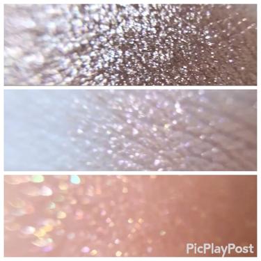 プリズムエアシャドウ スパークリングライン/CLIO/パウダーアイシャドウを使ったクチコミ(3枚目)