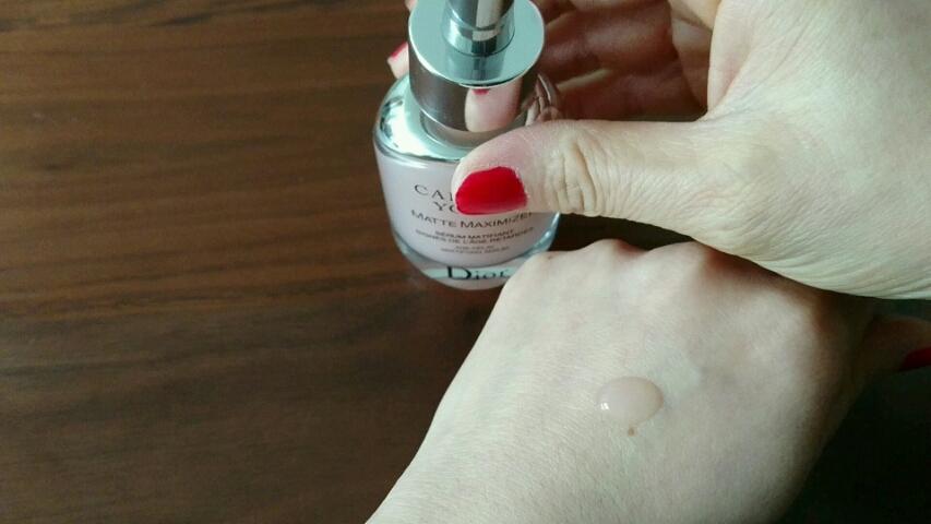 カプチュール ユース マット マキシマイザー/Dior/美容液を使ったクチコミ(2枚目)